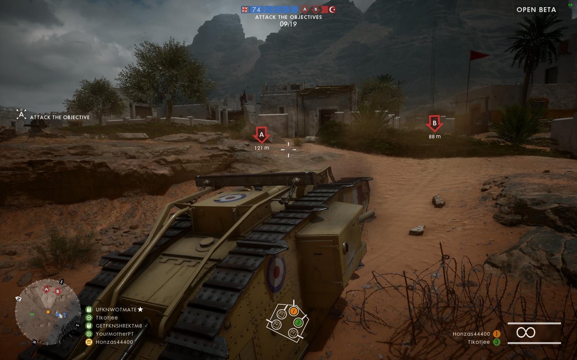 Dojmy z hraní otevřené bety Battlefield 1 129866