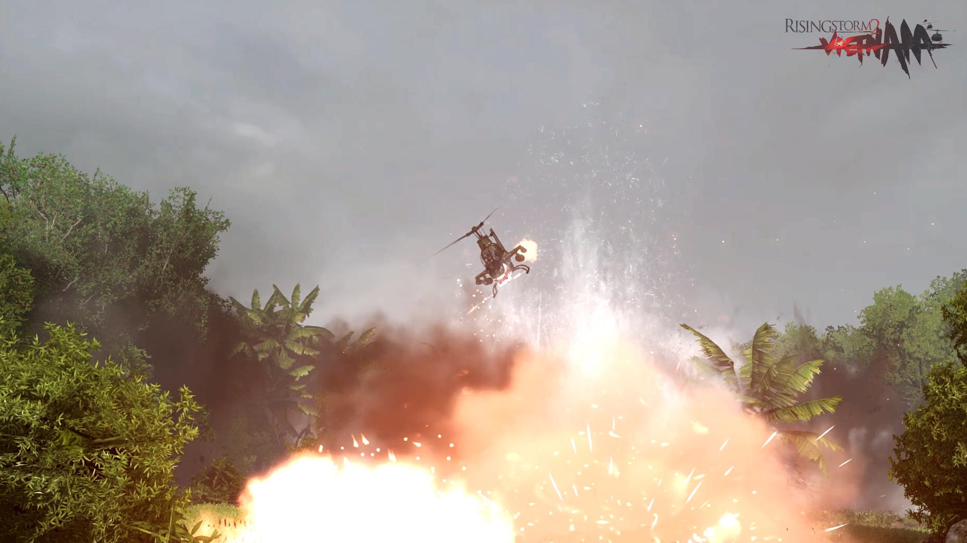 Rising Storm 2: Vietnam nabídne ovladatelné vrtulníky 129880