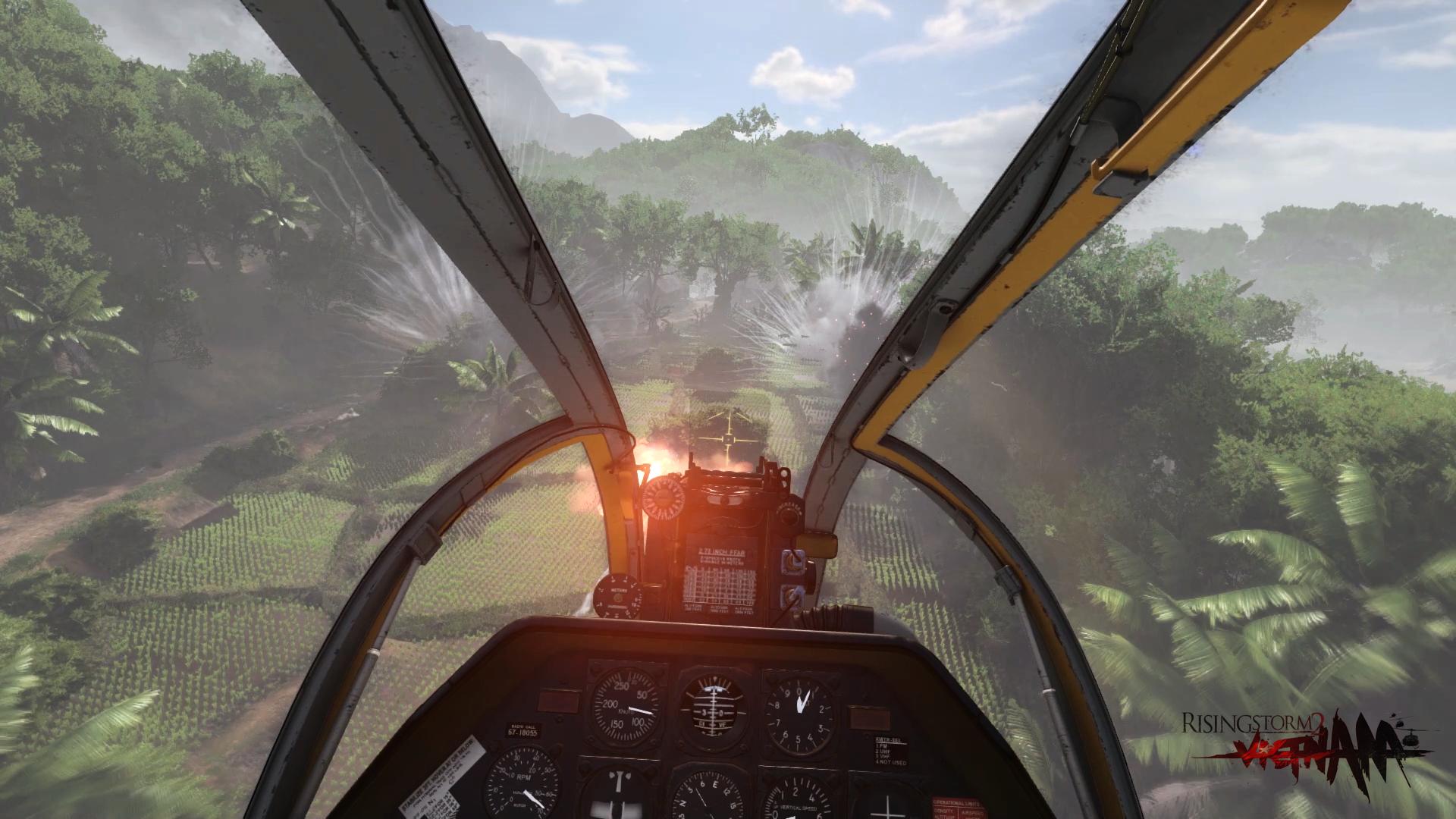 Rising Storm 2: Vietnam nabídne ovladatelné vrtulníky 129882