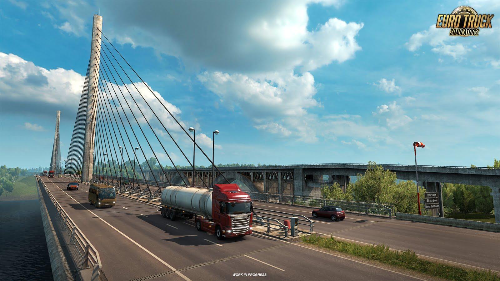 Euro Truck Simulator 2 ukazuje francouzské mosty 129991