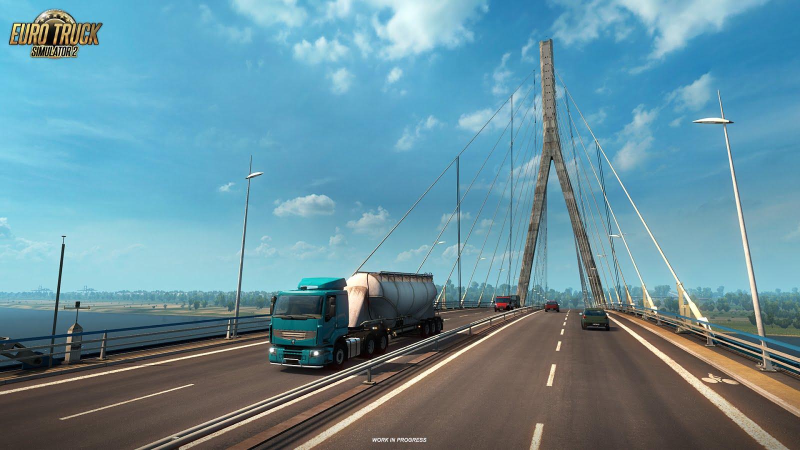 Euro Truck Simulator 2 ukazuje francouzské mosty 129992