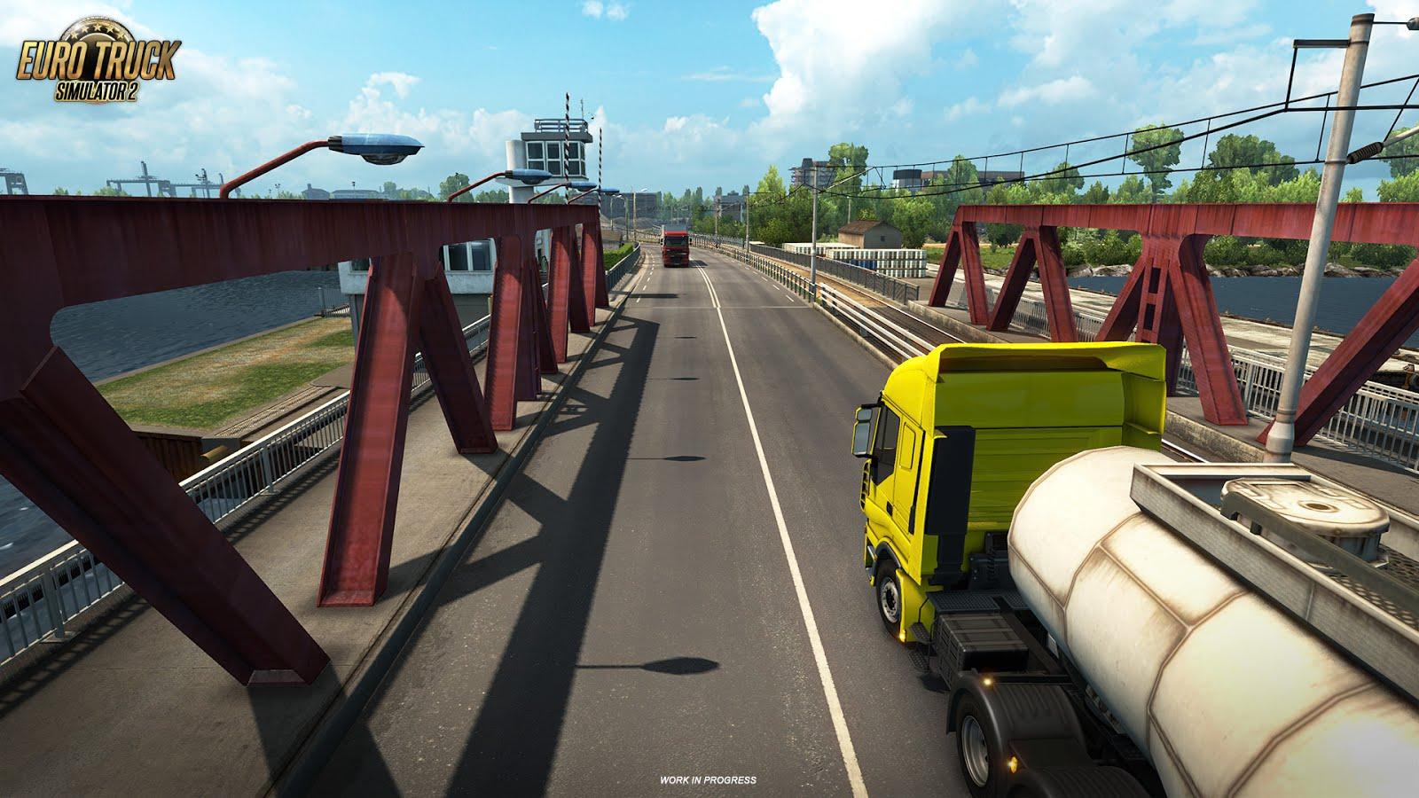 Euro Truck Simulator 2 ukazuje francouzské mosty 129993