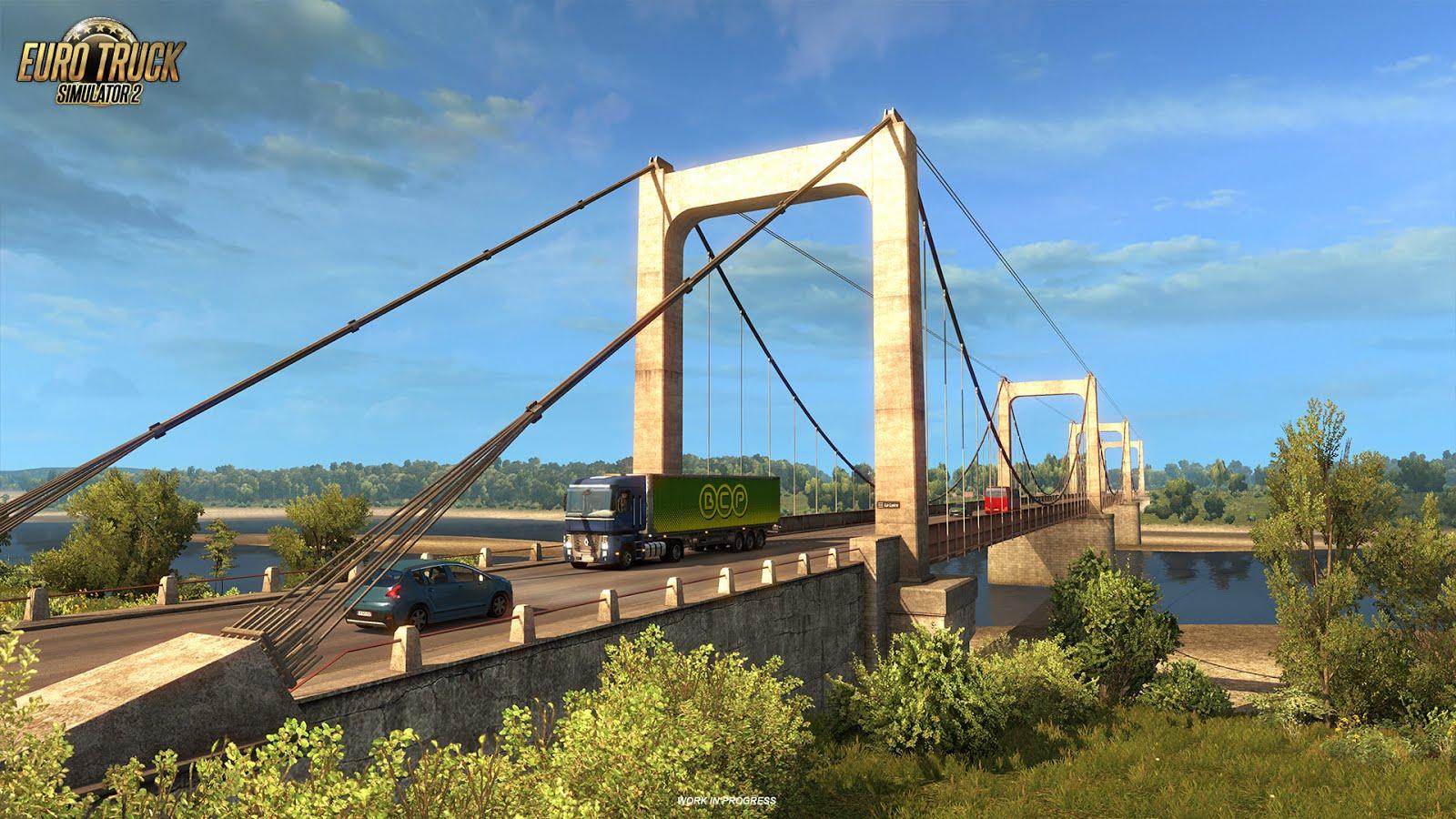 Euro Truck Simulator 2 ukazuje francouzské mosty 129994