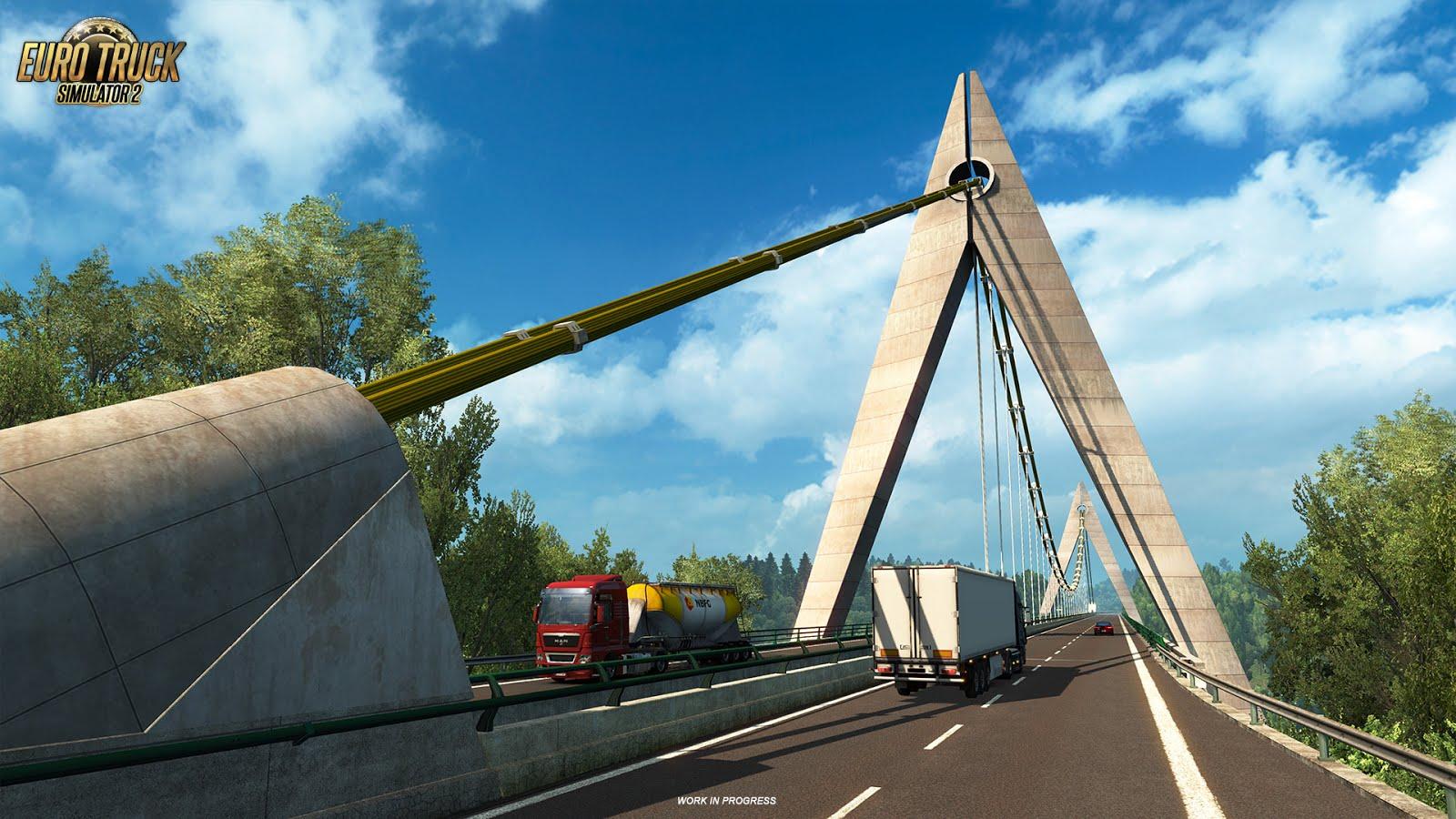 Euro Truck Simulator 2 ukazuje francouzské mosty 129995