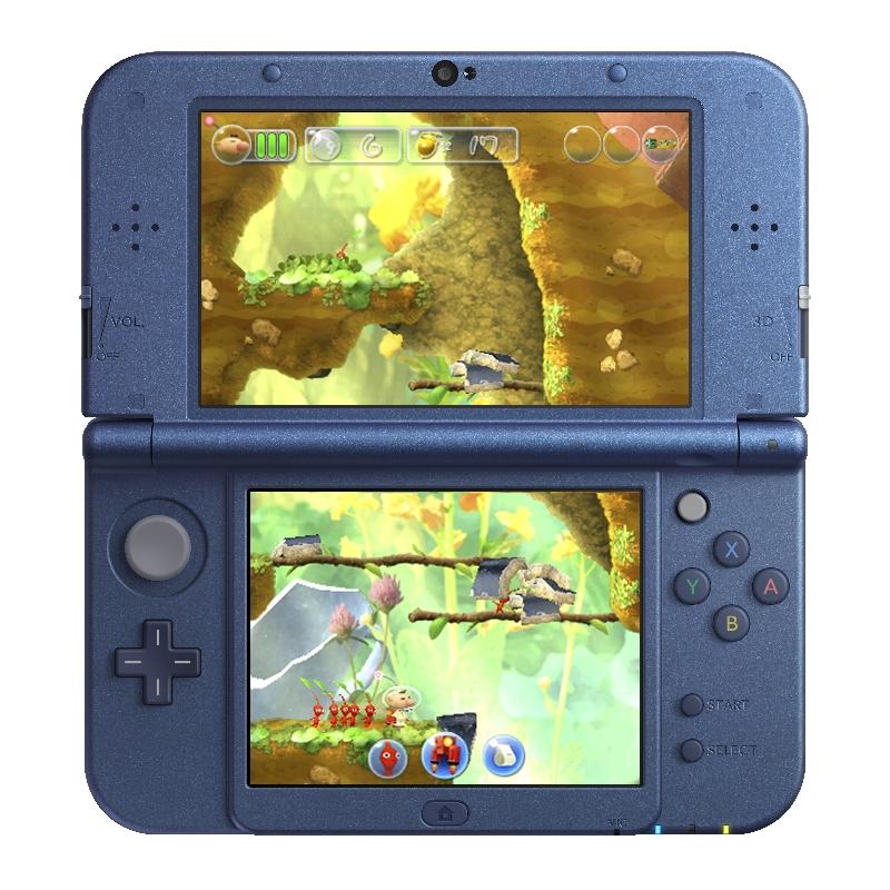 Konzole 3DS se dočká side-scrolleru s Pikminy 130025