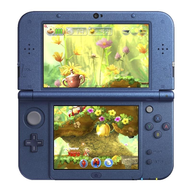Konzole 3DS se dočká side-scrolleru s Pikminy 130027