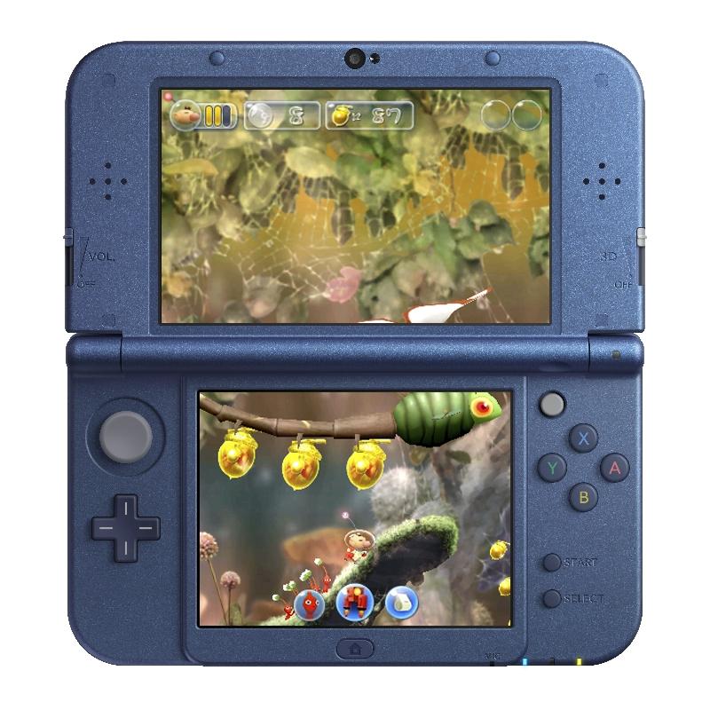 Konzole 3DS se dočká side-scrolleru s Pikminy 130028