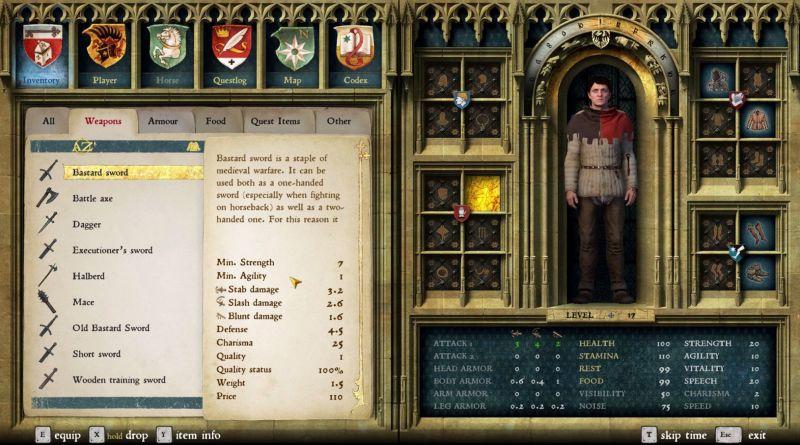 Warhorse předvádí odolnost různých typů zbroje v Kingdom Come: Deliverance 130051