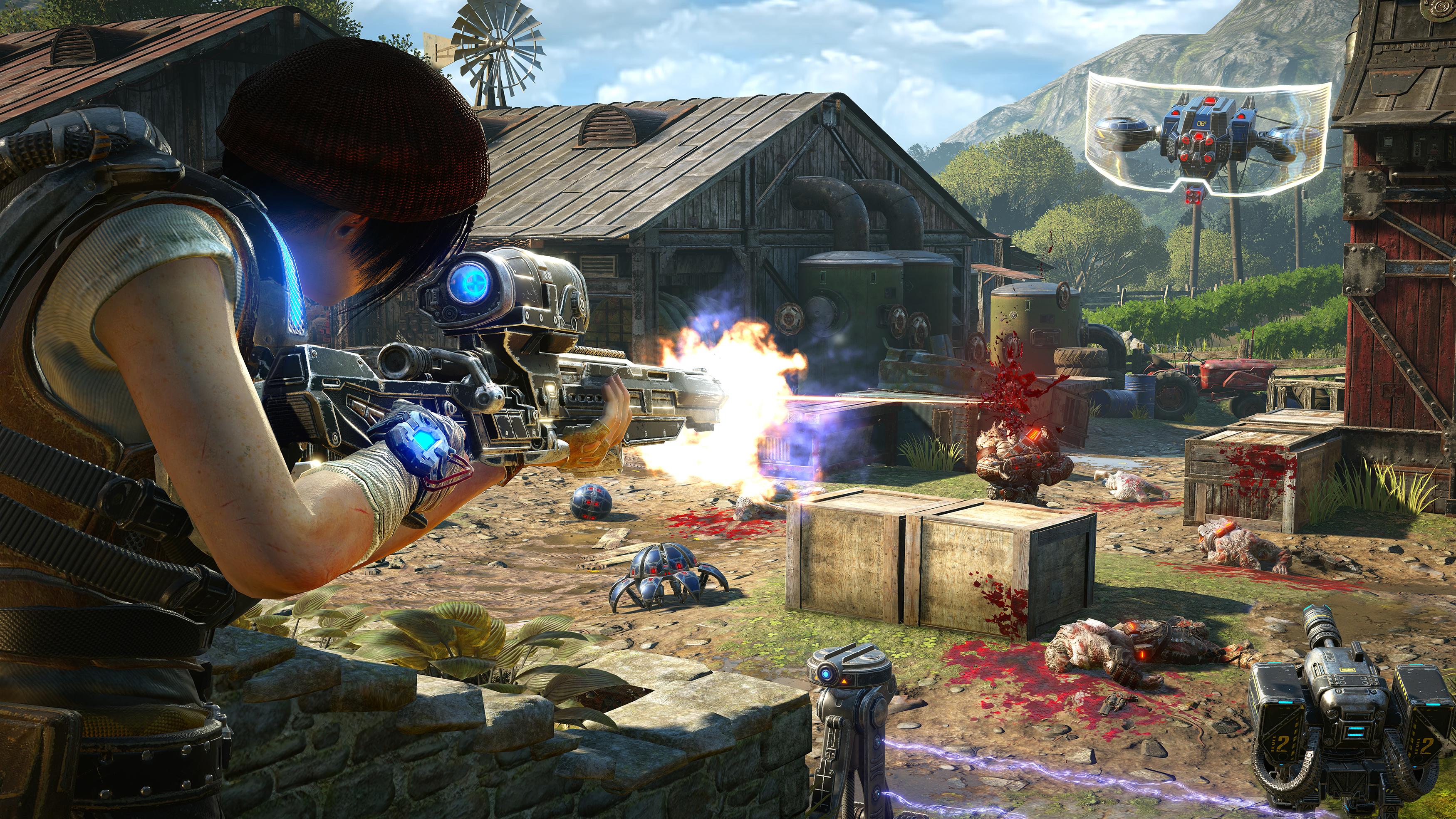 Nové obrázky z Gears of War 4 130098