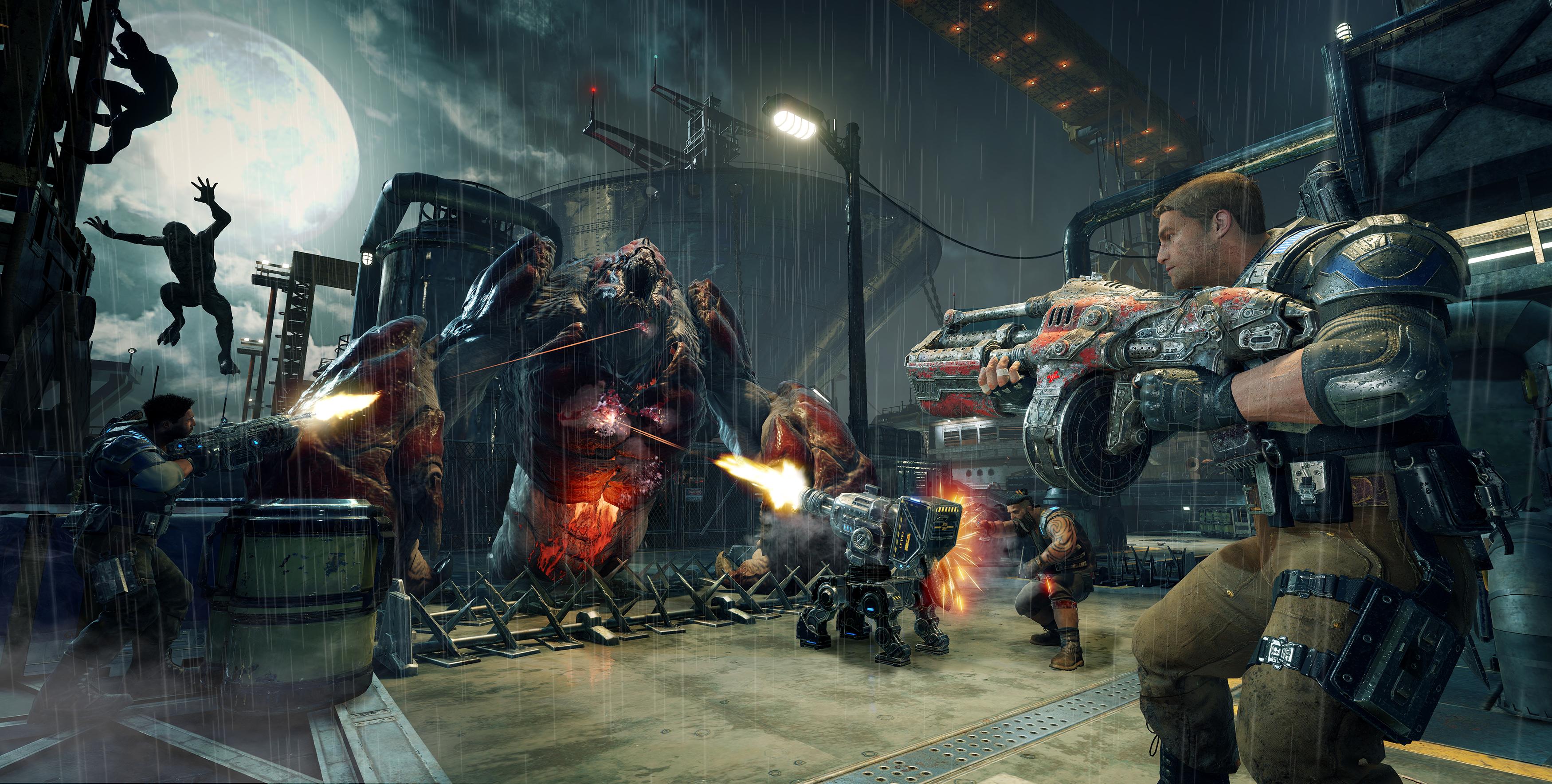 Nové obrázky z Gears of War 4 130099