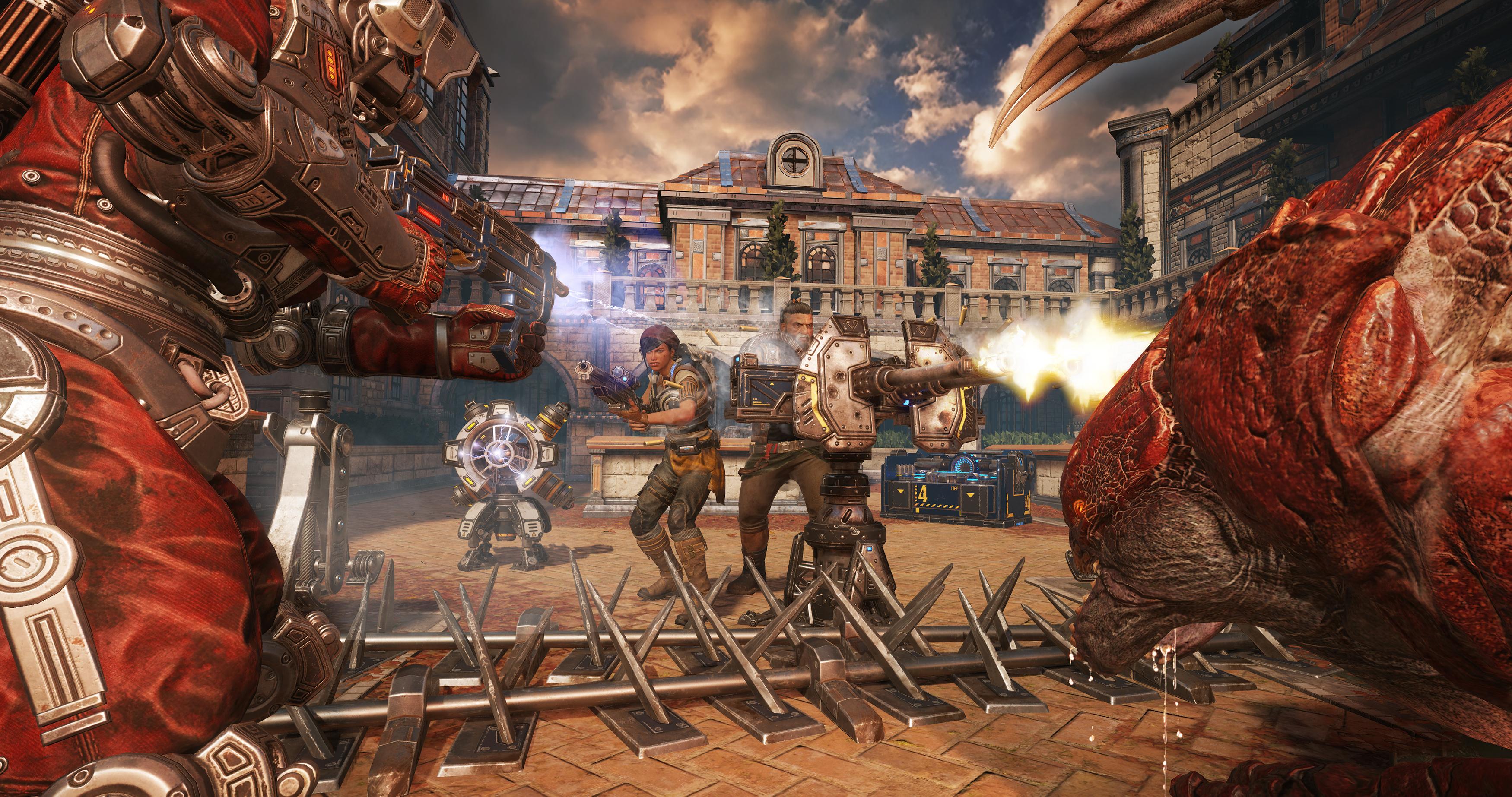 Nové obrázky z Gears of War 4 130100
