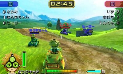 Nintendo oznámilo pro 3DS akci Tank Troopers 130127