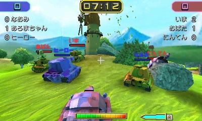 Nintendo oznámilo pro 3DS akci Tank Troopers 130128