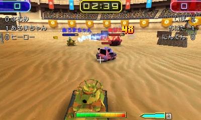 Nintendo oznámilo pro 3DS akci Tank Troopers 130129