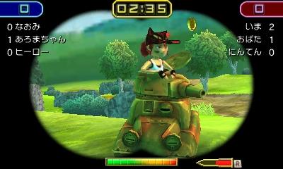 Nintendo oznámilo pro 3DS akci Tank Troopers 130130