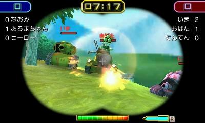 Nintendo oznámilo pro 3DS akci Tank Troopers 130131