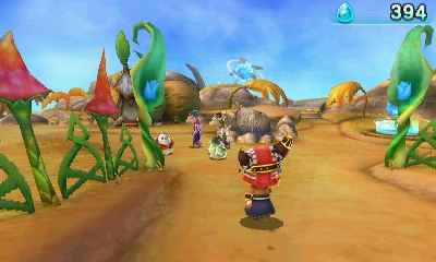 Nový gameplay z Ever Oasis doprovází screenshoty 130138