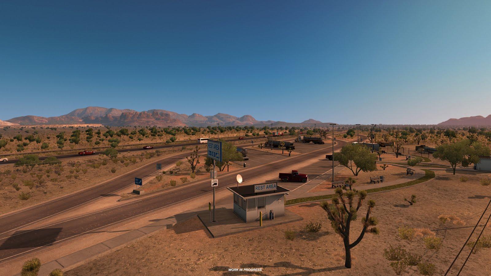 Obrazem: Změna měřítka mapy v American Truck Simulatoru 130253