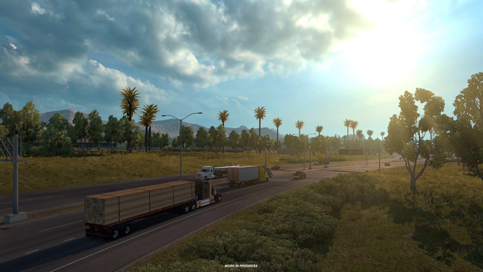 Obrazem: Změna měřítka mapy v American Truck Simulatoru 130254
