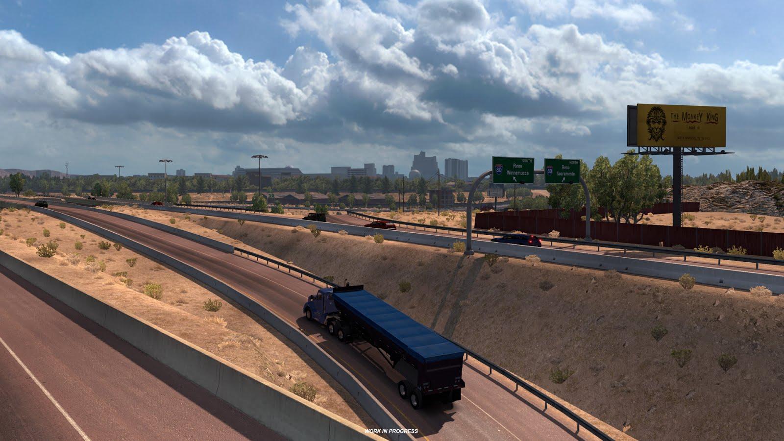 Obrazem: Změna měřítka mapy v American Truck Simulatoru 130256