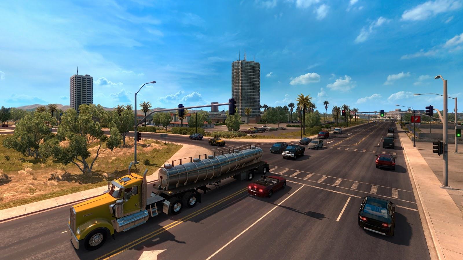Obrazem: Změna měřítka mapy v American Truck Simulatoru 130257