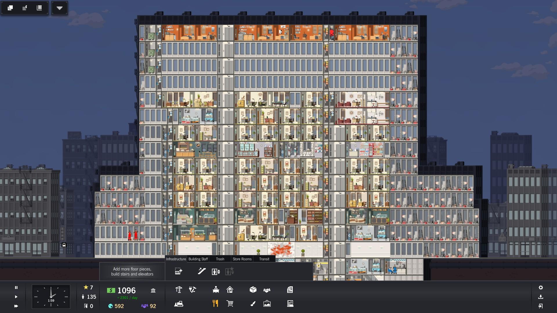 Project Highrise – správcem mrakodrapu 130316