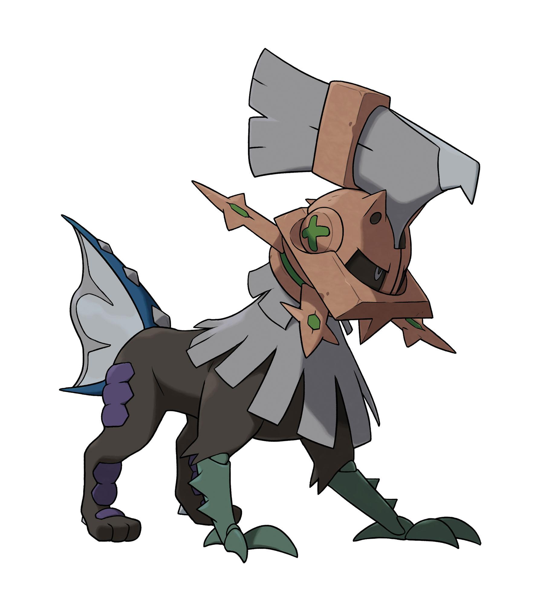 Bitevní a neprůstřelný Pokémon v Pokémon Sun a Moon 130343