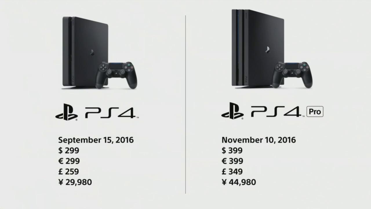 Sony oznámila PS4 Slim a PS4 Pro. Oba modely vyjdou letos! 130375