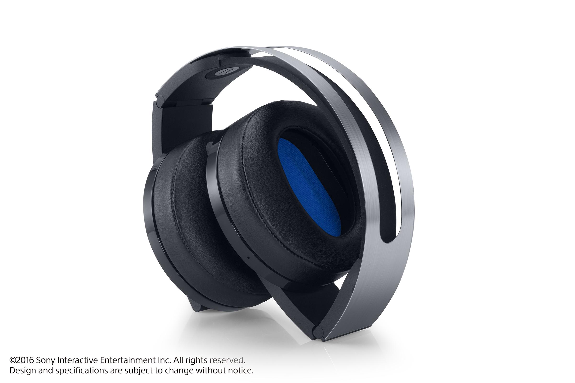 Platinová sluchátka pro PS4 budou v prodeji později 130442