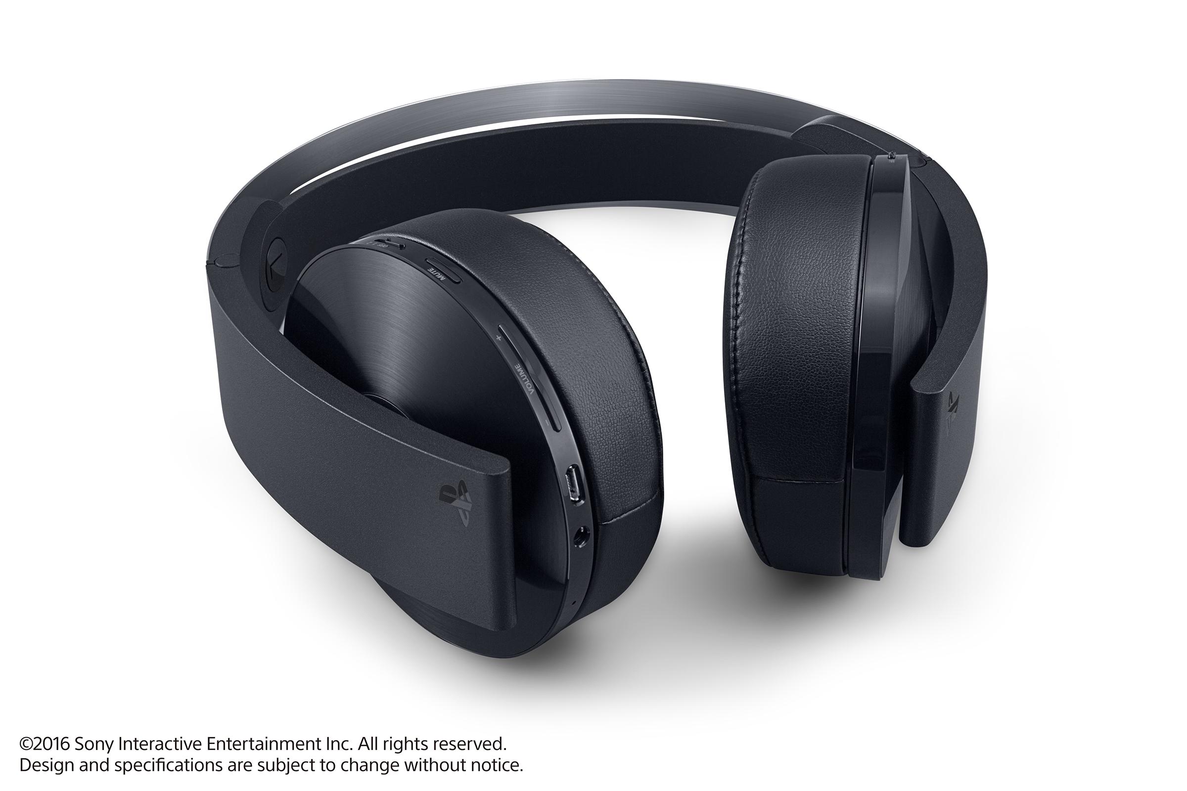 Platinová sluchátka pro PS4 budou v prodeji později 130443
