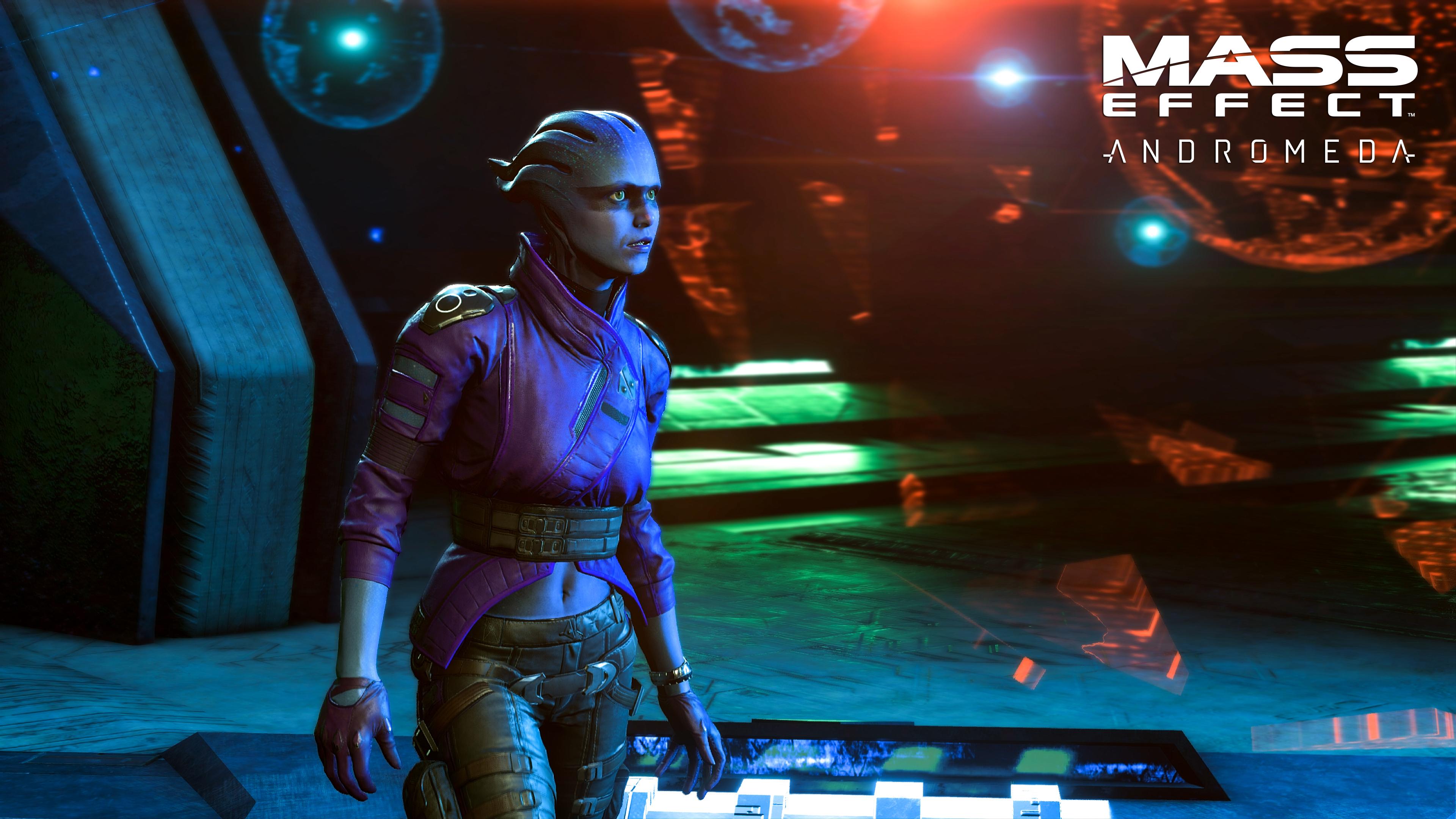 Mužská a ženská verze hlavní postavy Mass Effectu: Andromeda jsou sourozenci 130451