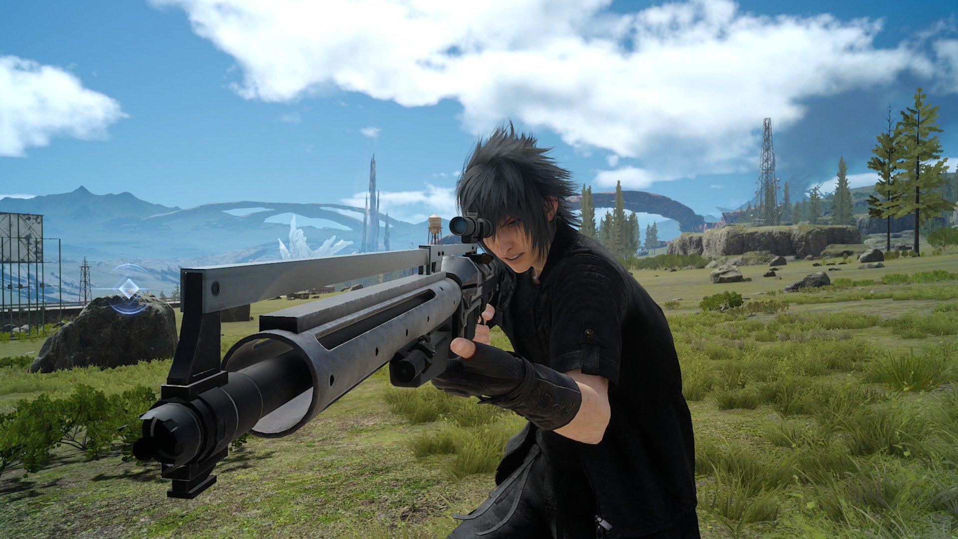 Střelné zbraně a stroje na zabíjení ve Final Fantasy XV 130465