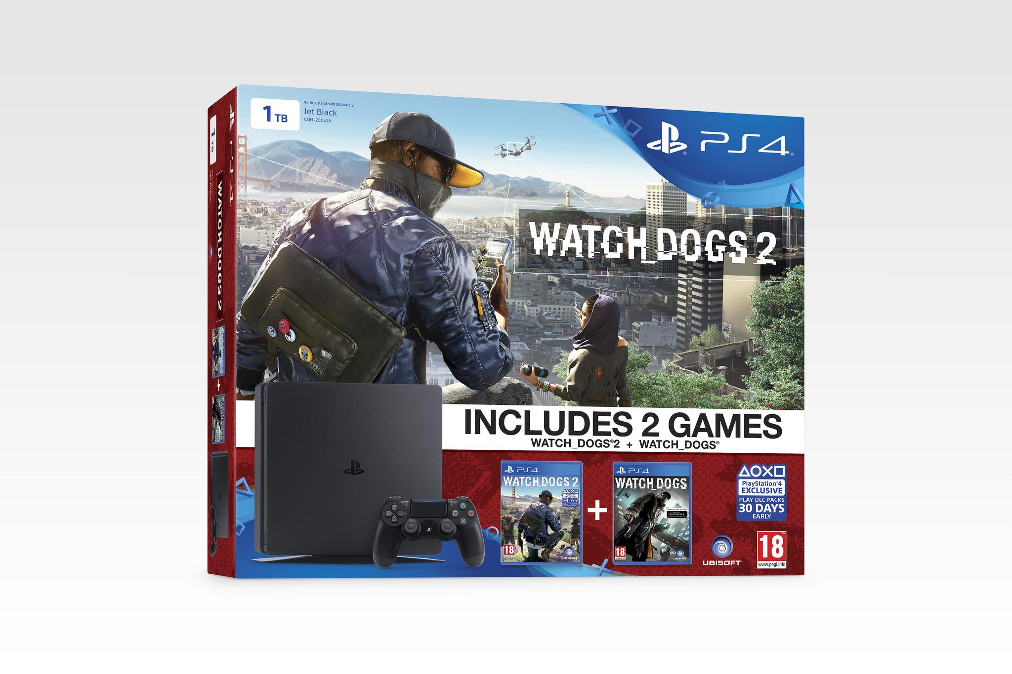 Ztenčenou PS4 koupíte v bundlu s očekávanými hrami 130469