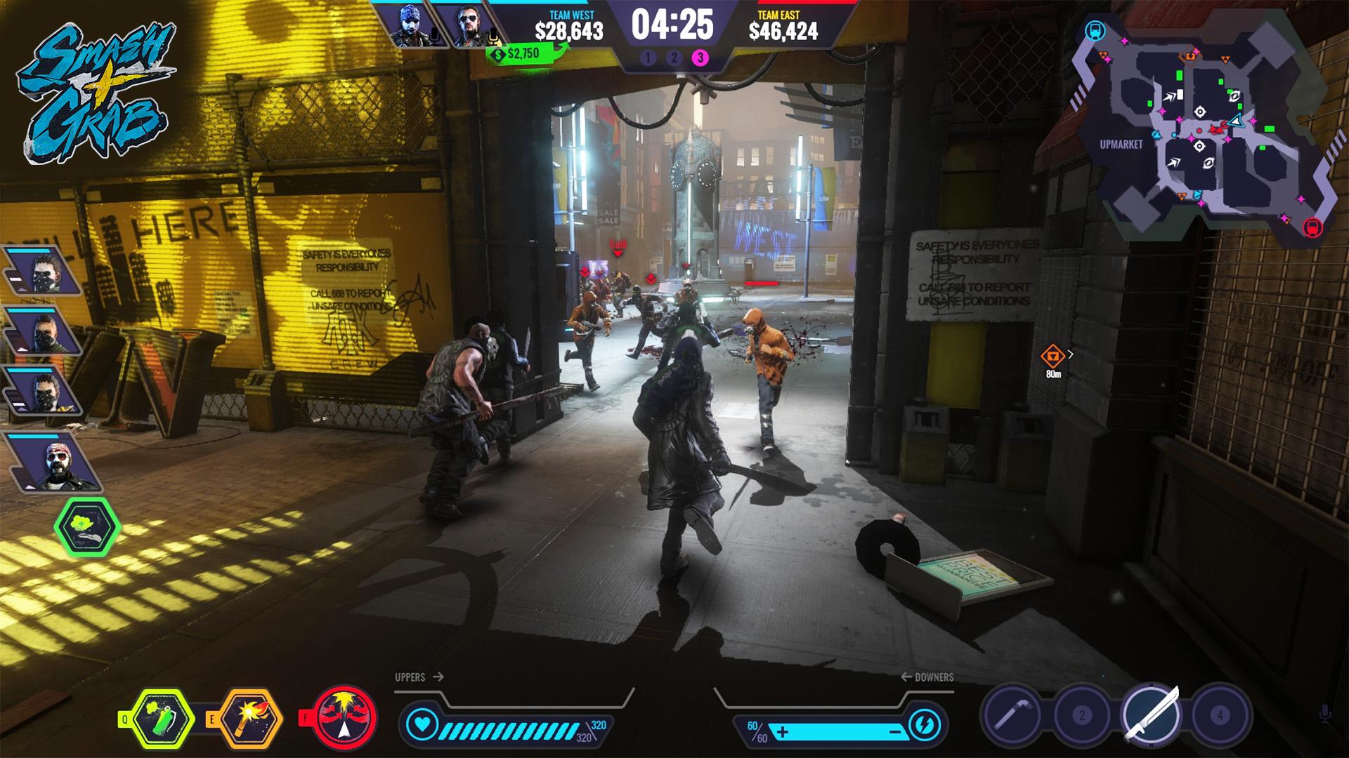 Tvůrci Smash + Grab přibližují základní herní principy 130521