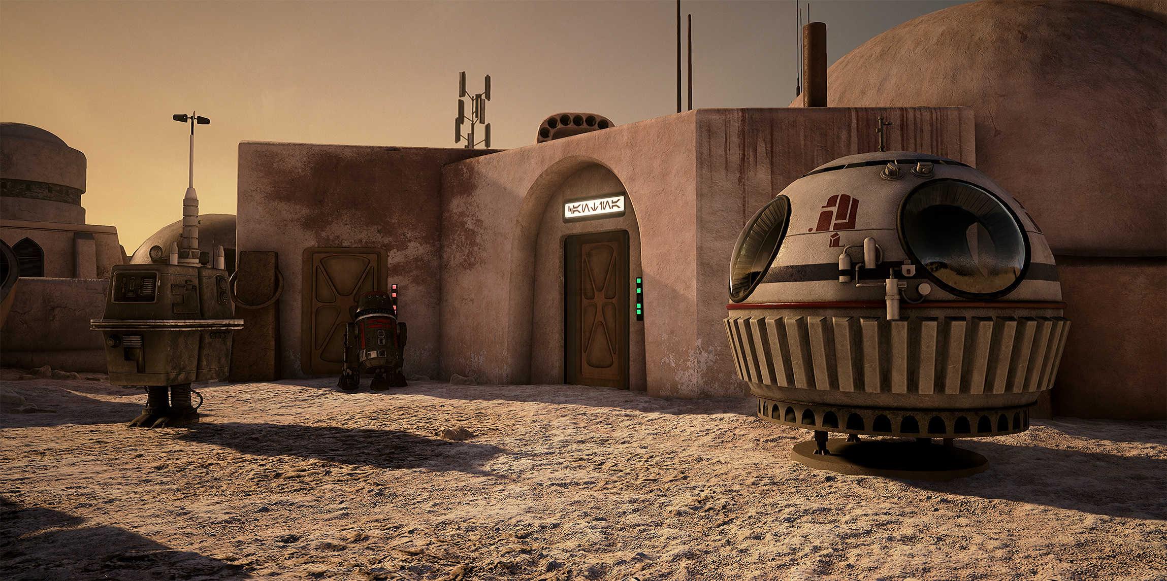 Vývojáři z Obsidianu vytvořili překrásnou Star Wars scenérii v enginu Unreal 4 130529