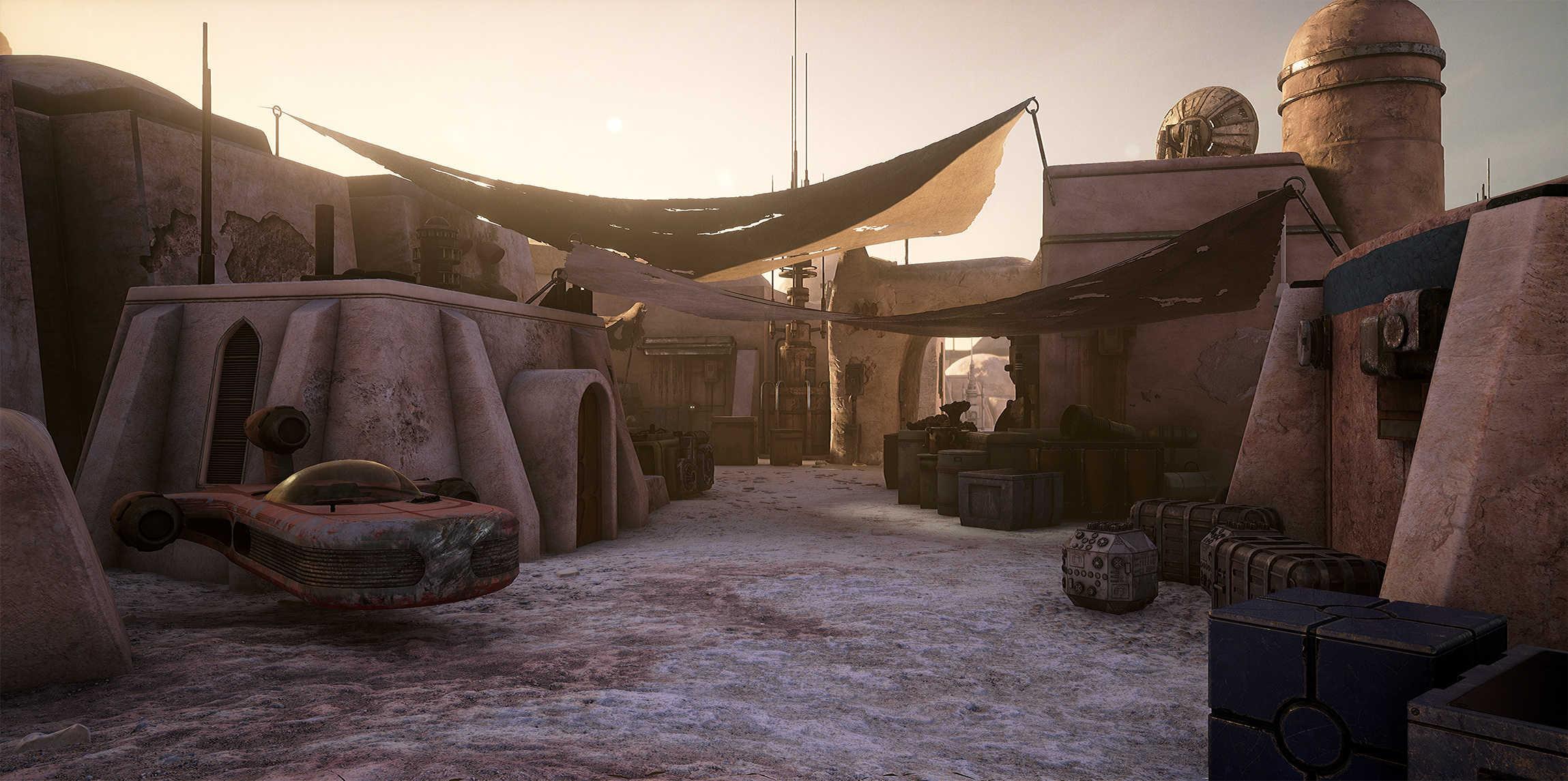 Vývojáři z Obsidianu vytvořili překrásnou Star Wars scenérii v enginu Unreal 4 130530