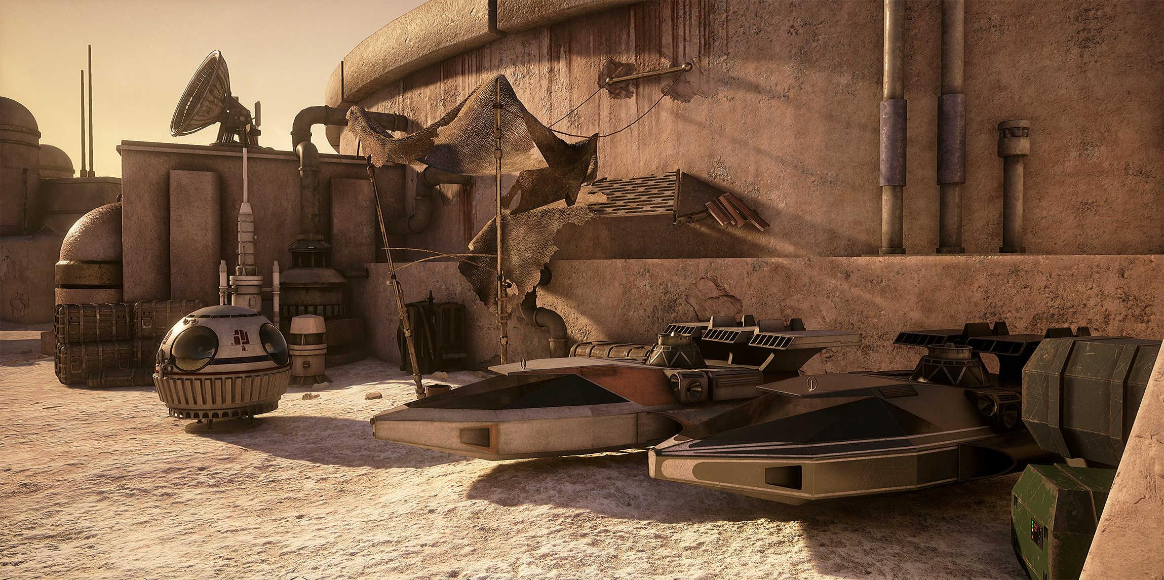 Vývojáři z Obsidianu vytvořili překrásnou Star Wars scenérii v enginu Unreal 4 130531