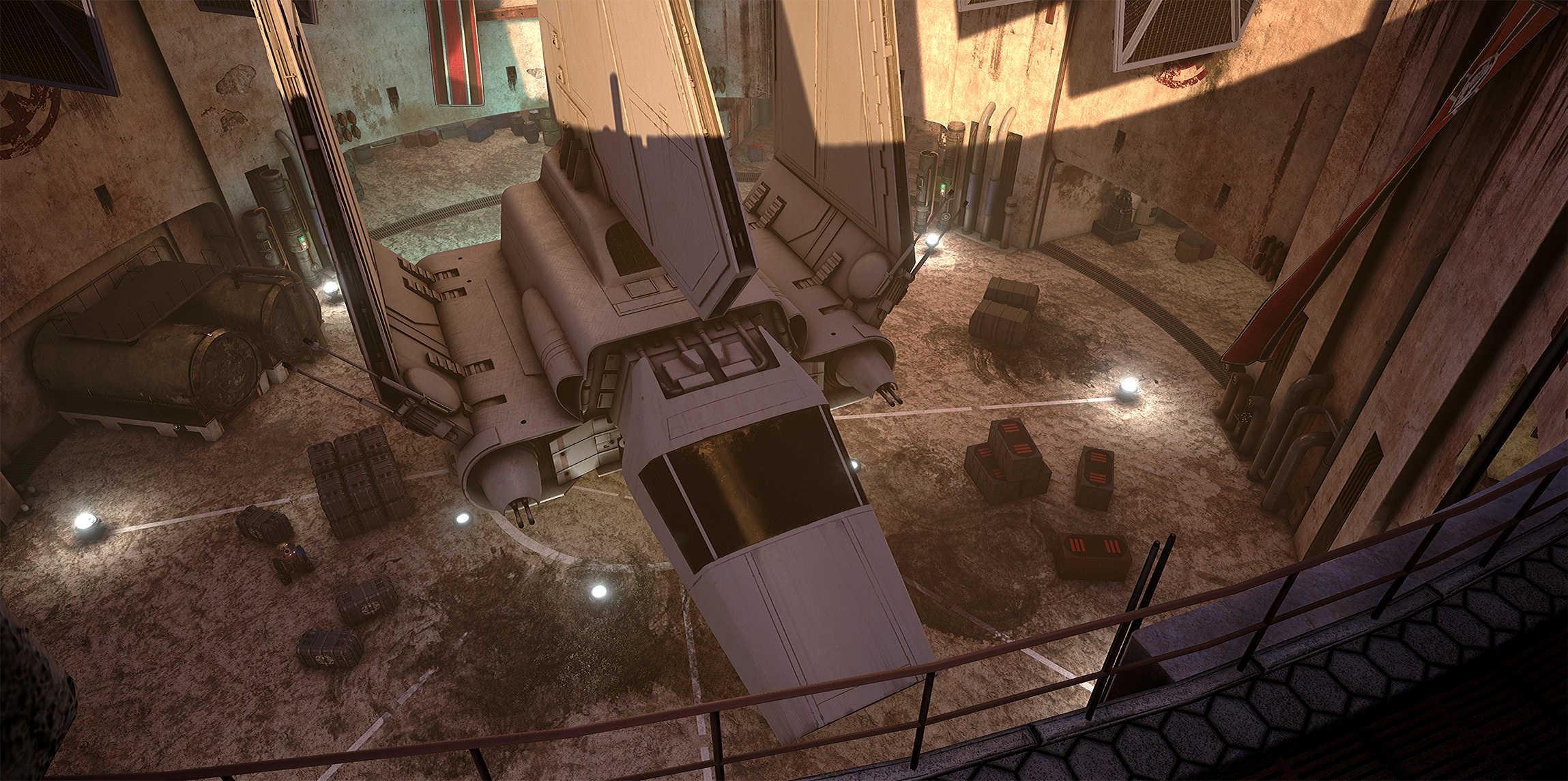 Vývojáři z Obsidianu vytvořili překrásnou Star Wars scenérii v enginu Unreal 4 130532
