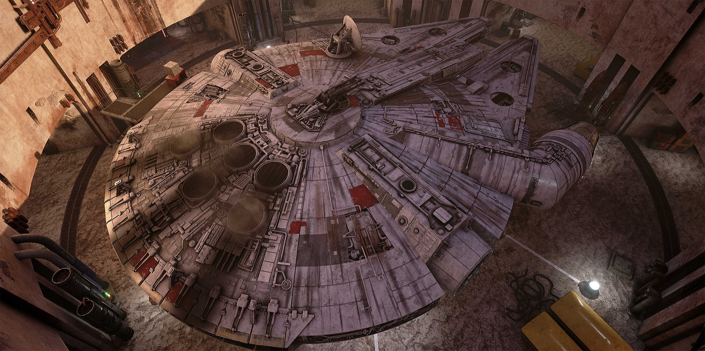 Vývojáři z Obsidianu vytvořili překrásnou Star Wars scenérii v enginu Unreal 4 130533