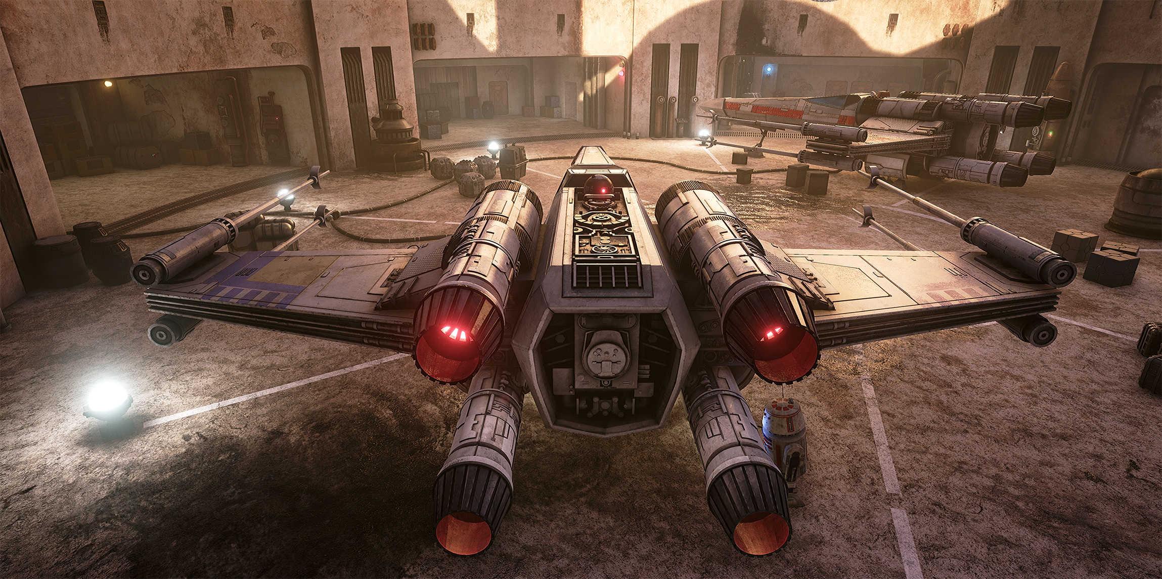 Vývojáři z Obsidianu vytvořili překrásnou Star Wars scenérii v enginu Unreal 4 130535
