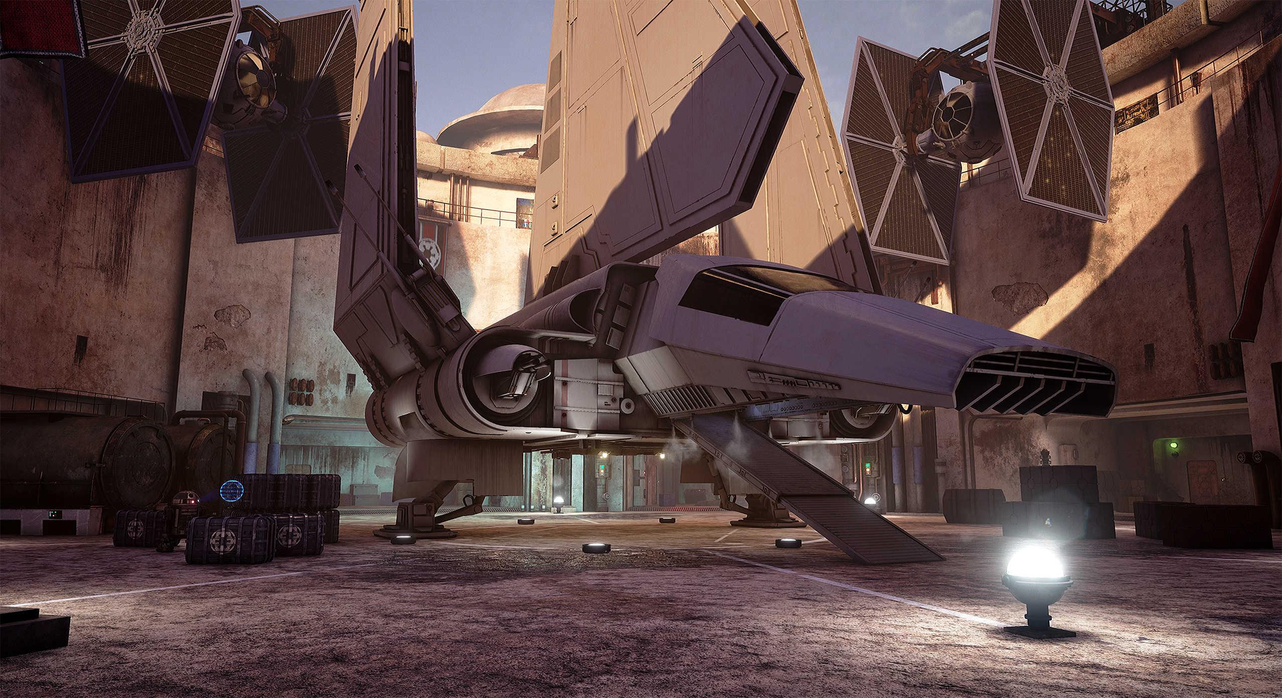 Vývojáři z Obsidianu vytvořili překrásnou Star Wars scenérii v enginu Unreal 4 130536