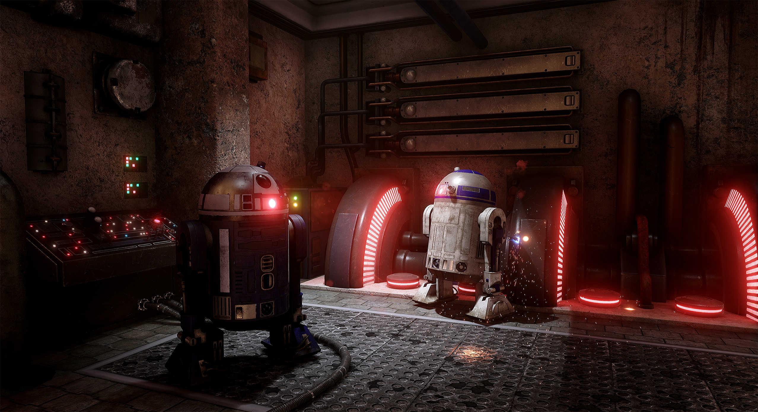 Vývojáři z Obsidianu vytvořili překrásnou Star Wars scenérii v enginu Unreal 4 130537