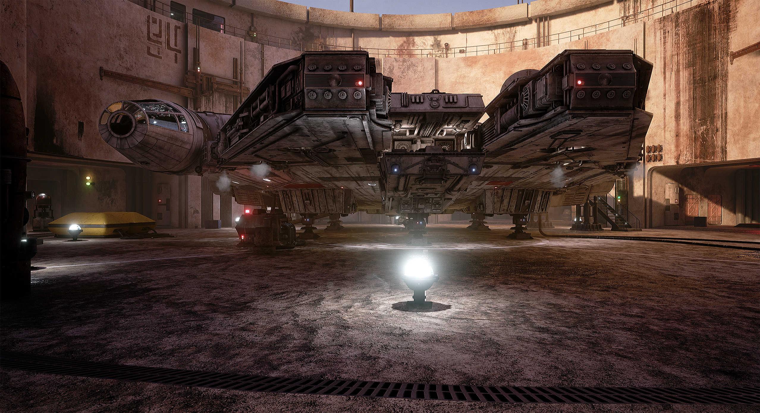 Vývojáři z Obsidianu vytvořili překrásnou Star Wars scenérii v enginu Unreal 4 130538