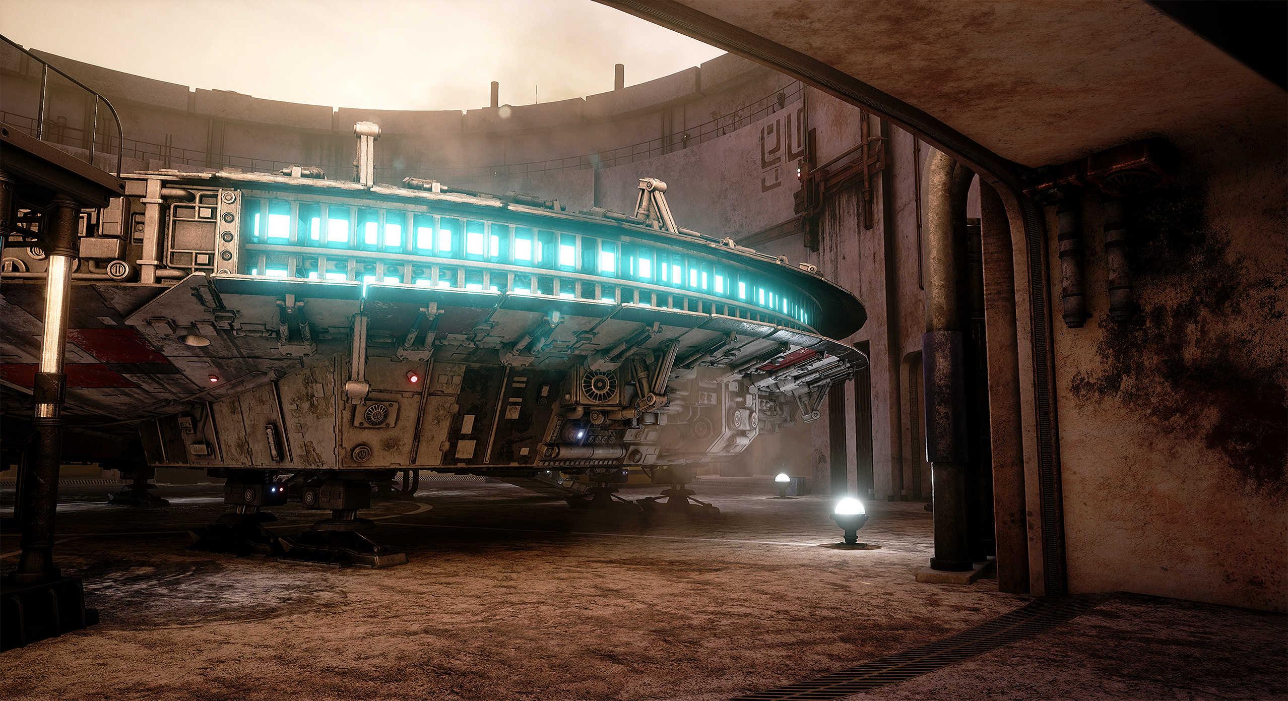 Vývojáři z Obsidianu vytvořili překrásnou Star Wars scenérii v enginu Unreal 4 130539