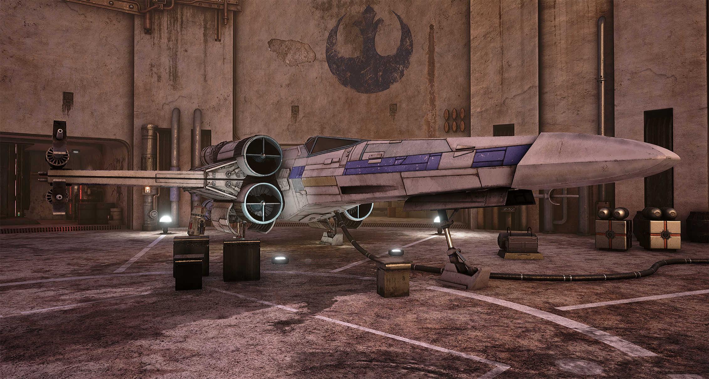 Vývojáři z Obsidianu vytvořili překrásnou Star Wars scenérii v enginu Unreal 4 130540