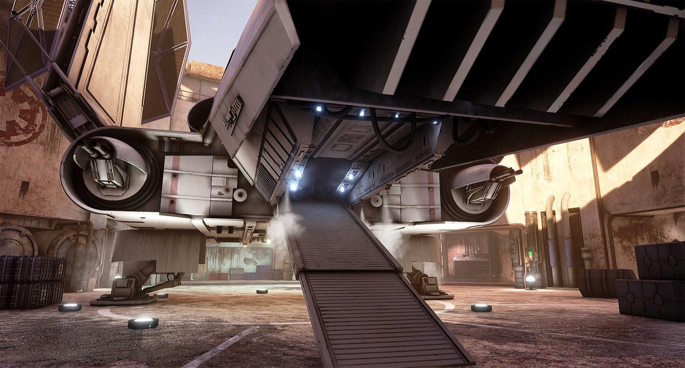 Vývojáři z Obsidianu vytvořili překrásnou Star Wars scenérii v enginu Unreal 4 130541