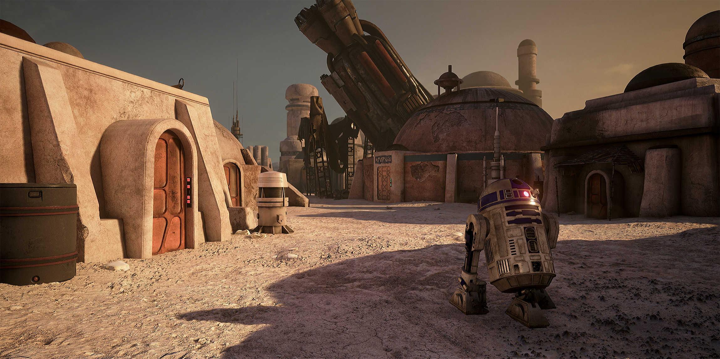 Vývojáři z Obsidianu vytvořili překrásnou Star Wars scenérii v enginu Unreal 4 130542