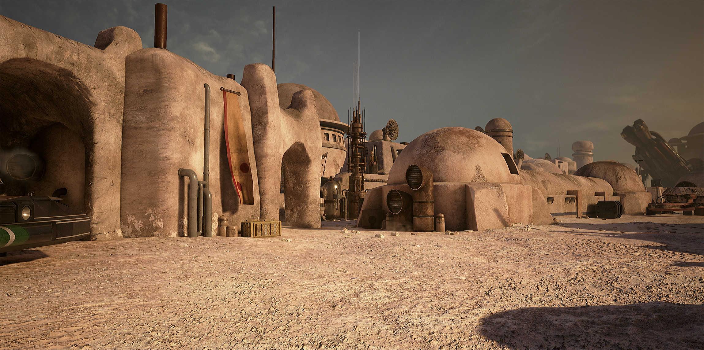 Vývojáři z Obsidianu vytvořili překrásnou Star Wars scenérii v enginu Unreal 4 130543