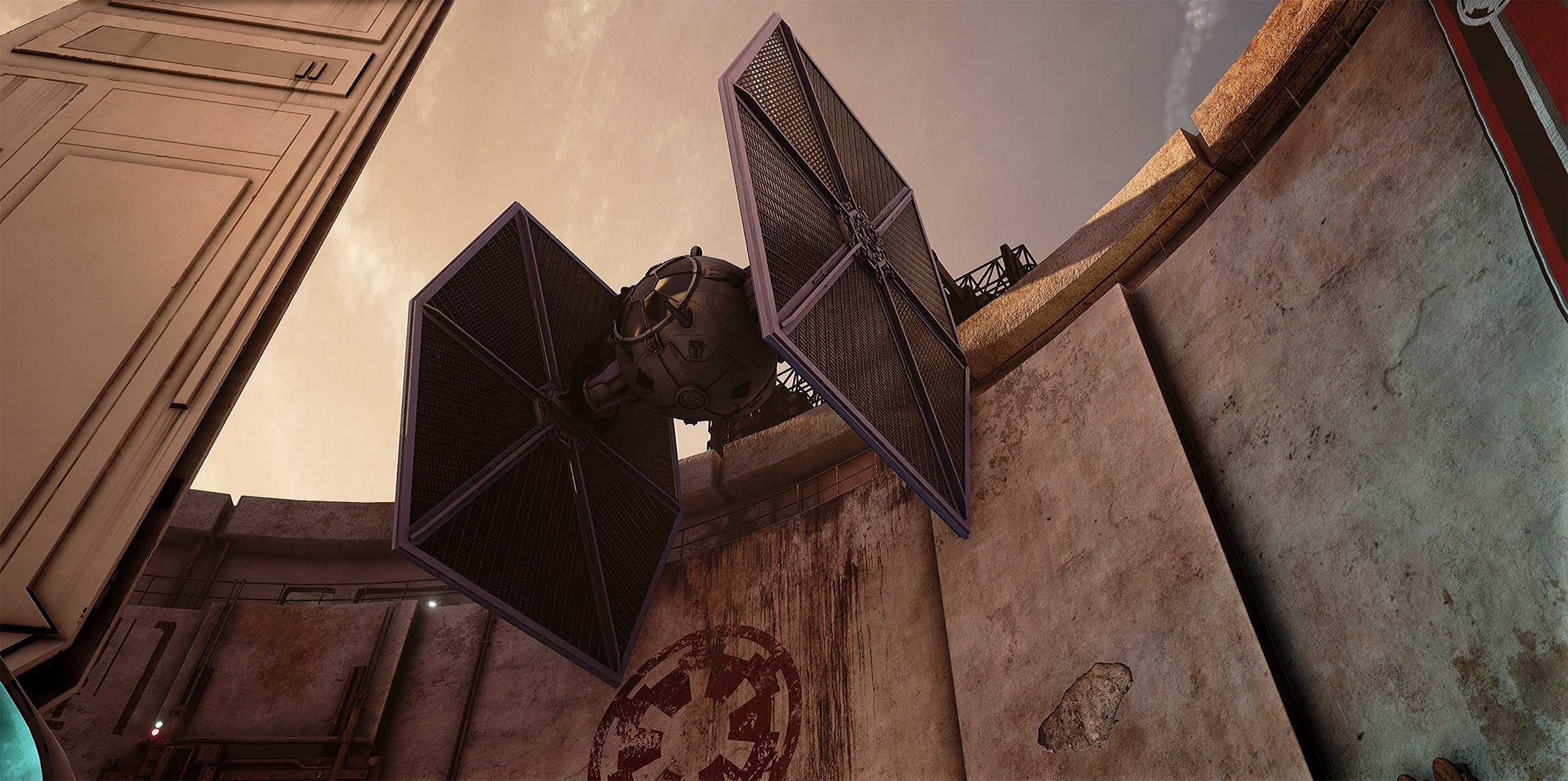 Vývojáři z Obsidianu vytvořili překrásnou Star Wars scenérii v enginu Unreal 4 130545