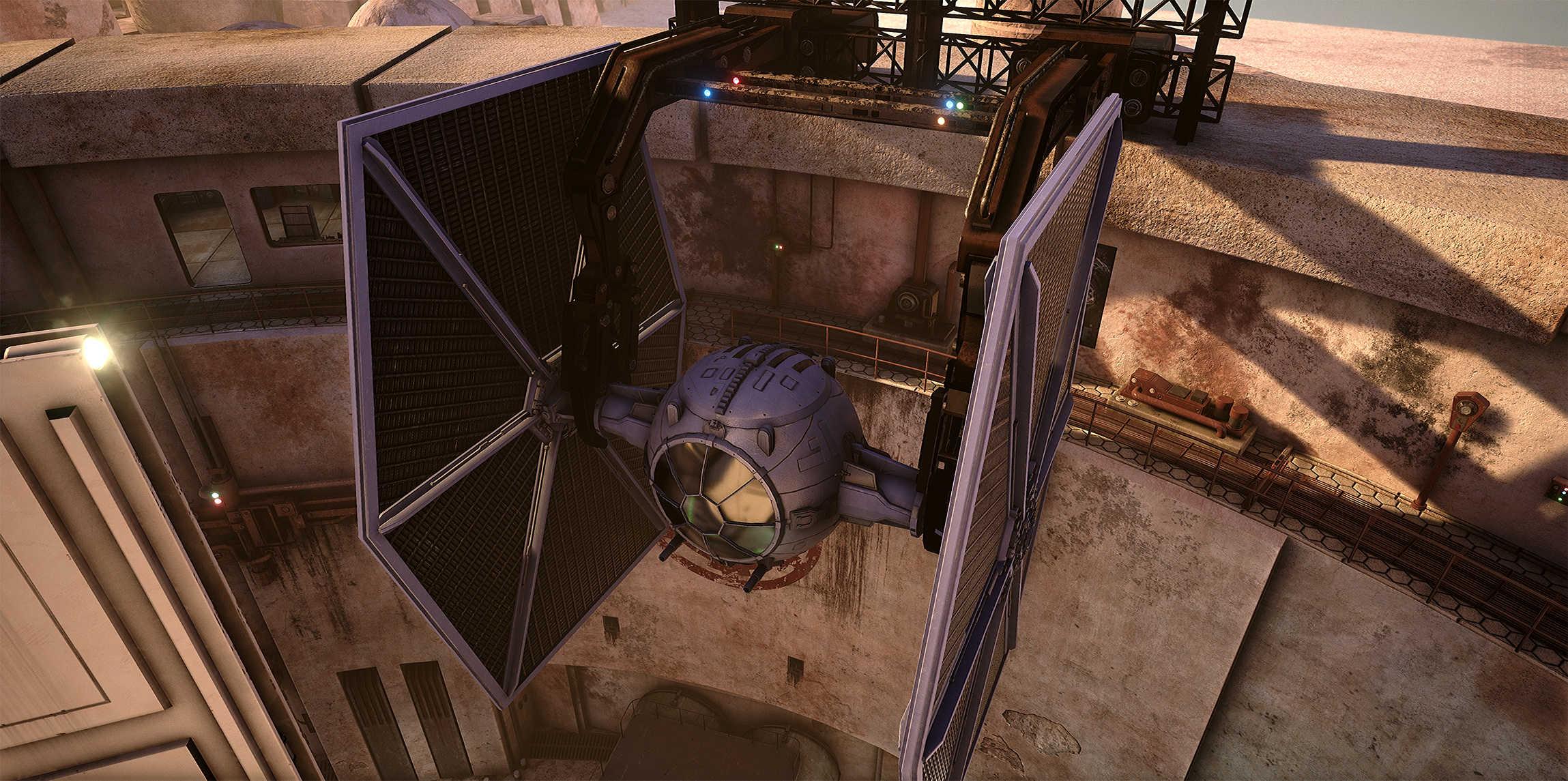 Vývojáři z Obsidianu vytvořili překrásnou Star Wars scenérii v enginu Unreal 4 130546